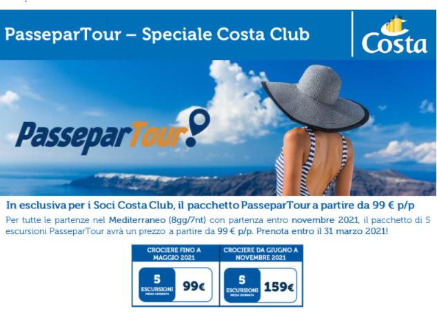 COSTA – passapartour